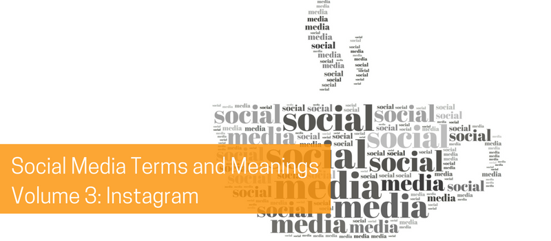 Social Media Terms and Meanings Volume 3: Instagram